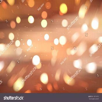 abstract brown bokeh circles with particles. illustration beautiful. ,