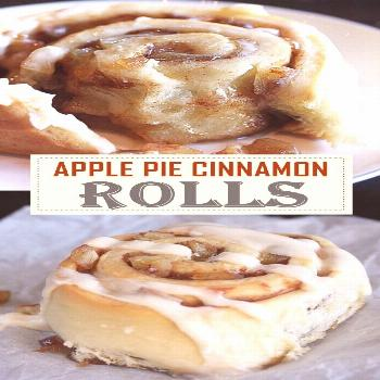 APPLE PIE CINNAMON ROLLS APPLE PIE CINNAMON ROLLS