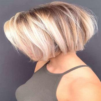 Bob With Chunky Balayage ❤ If you are in search for nice short haircuts, which can highlight your
