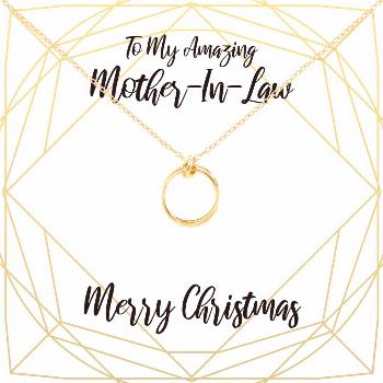 Christmas Gift for Mother in Law: Present, Necklace, Jewelry, Xmas Gift, Gift Idea for Mother... Ch