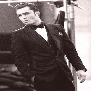 Chuck Bass (Ed Westwick). Gossip Girl is my guilty pleasure. So is Chuck Bass.