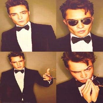 Chuck Bass. When i get a Boston Terrier, his name will be Chuck because of you. Women's Fashion,Dre