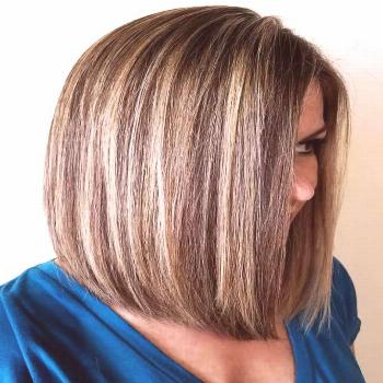Chunky Highlights Chocolate#brownhair ❤️ See light brown hair color variations that suit dark,