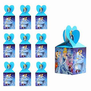 Cinderella Candy Gift Boxes,Children's Birthday Party Snack