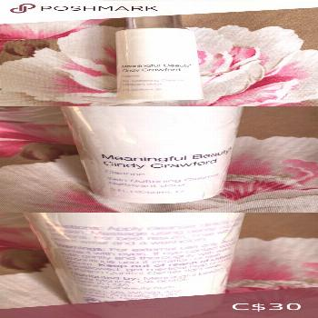 Cindy Crawford skin softening Cleanser Sealed product Meaningful Beauty Makeup Face Primer
