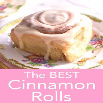 Cinnamon Rolls These pillowy soft and luscious cinnamon rolls from Preppy Kitchen are topped with a