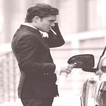 Ed Westwick as Chuck Bass