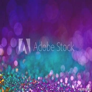 Festive bokeh glitters background, abstract shiny backdrop with circles,modern design overlay with