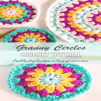 Granny circles - how to make them and what to use them for -  Lullaby Lodge tutorial - Crafts | Jus