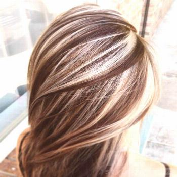 Hair Highlights For Every Style And Type Of Hair | Chunky Highlights | | Hair Color