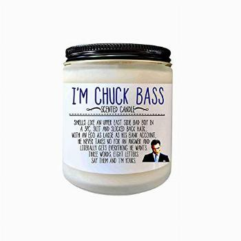 I'm Chuck Bass Gift Gossip Girl Gift Scented Candle Ed