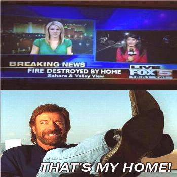 Oh Chuck Norris... - funny memes