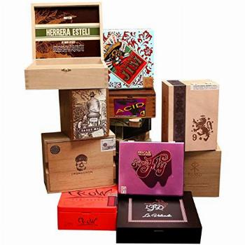 Premium Wooden Empty Cigar Boxes for Decor & Crafts