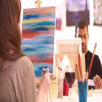 Seven Moments To Remember From Painting And Wine Chicago Suburbs   Painting And ... -  Seven Moment