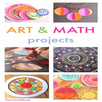 the Art of Circles :: math and art lessons workshop -  Gorgeous art and math lessons, and easy STEA