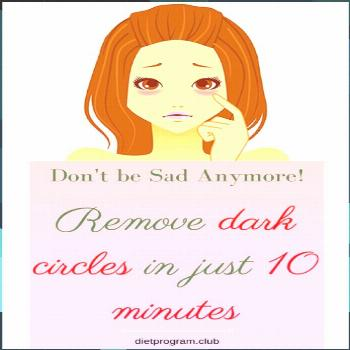 This Recipe Will Help You Get Rid Of Dark Eye Circles In Just 10 Minutes!