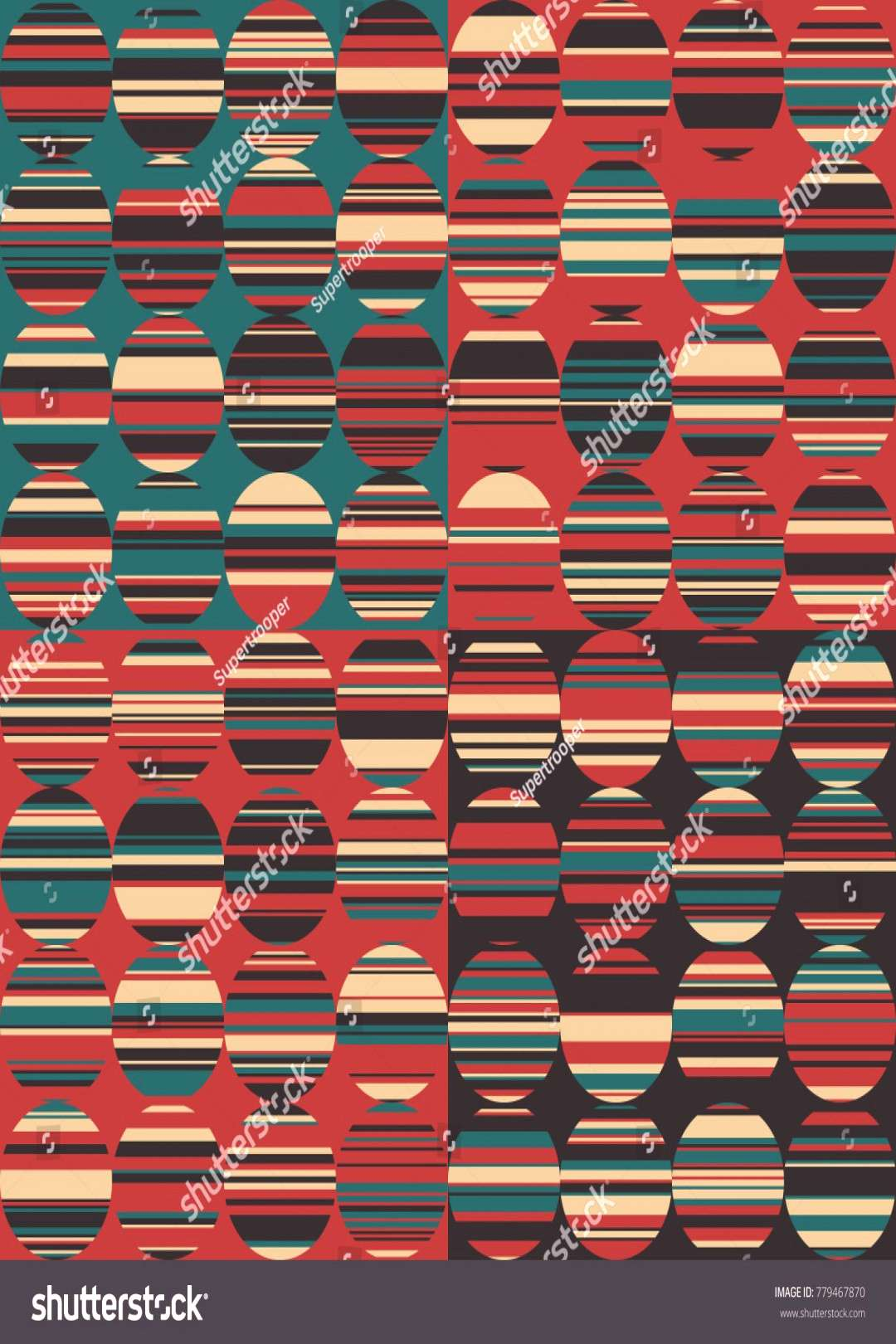 Abstract Background with Circles and Lines, Grunge Background in Circle Style, Modern Geometrical A