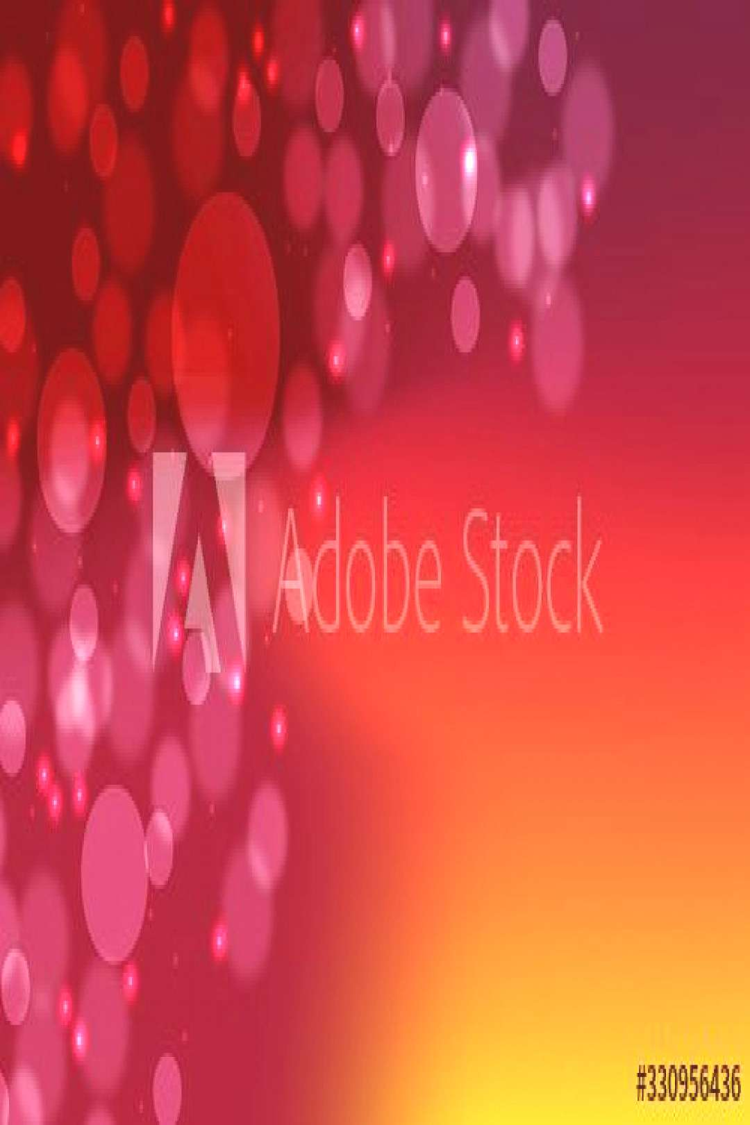 Bokeh blur abstract shapes circles lines lattice red dark in gradient vector background . ,