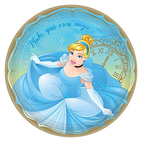 Cinderella Party Supplies and Decoration Set for 16 -