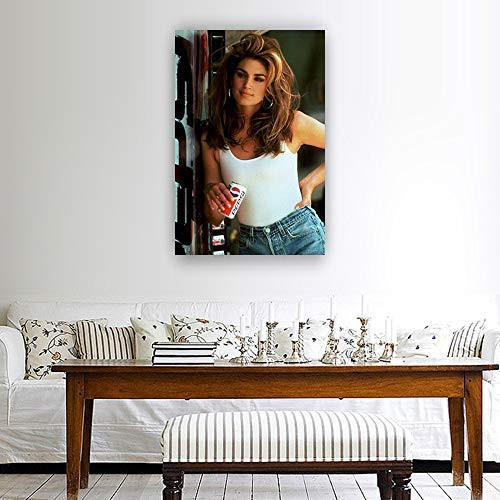 Cindy Crawford Supermodel Poster Prints for Wall Decor