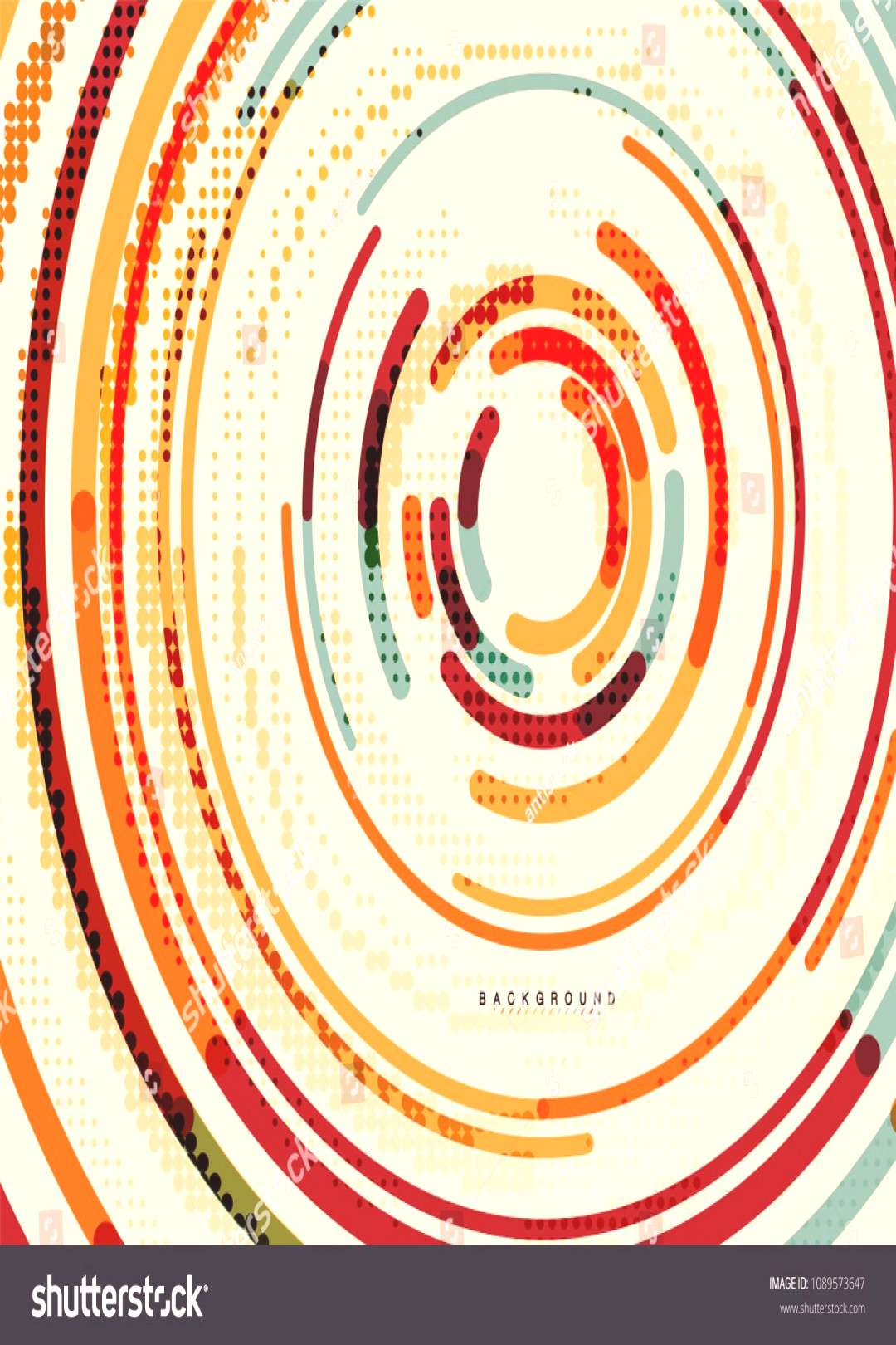 Circular lines circles, geometric abstract background. Vector illustration ,