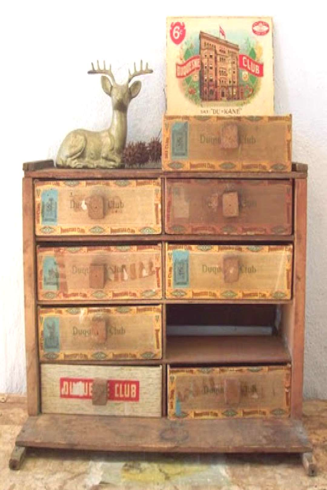 Craft Organizing Cigar Boxes | Cathe Holden's Inspired Barn