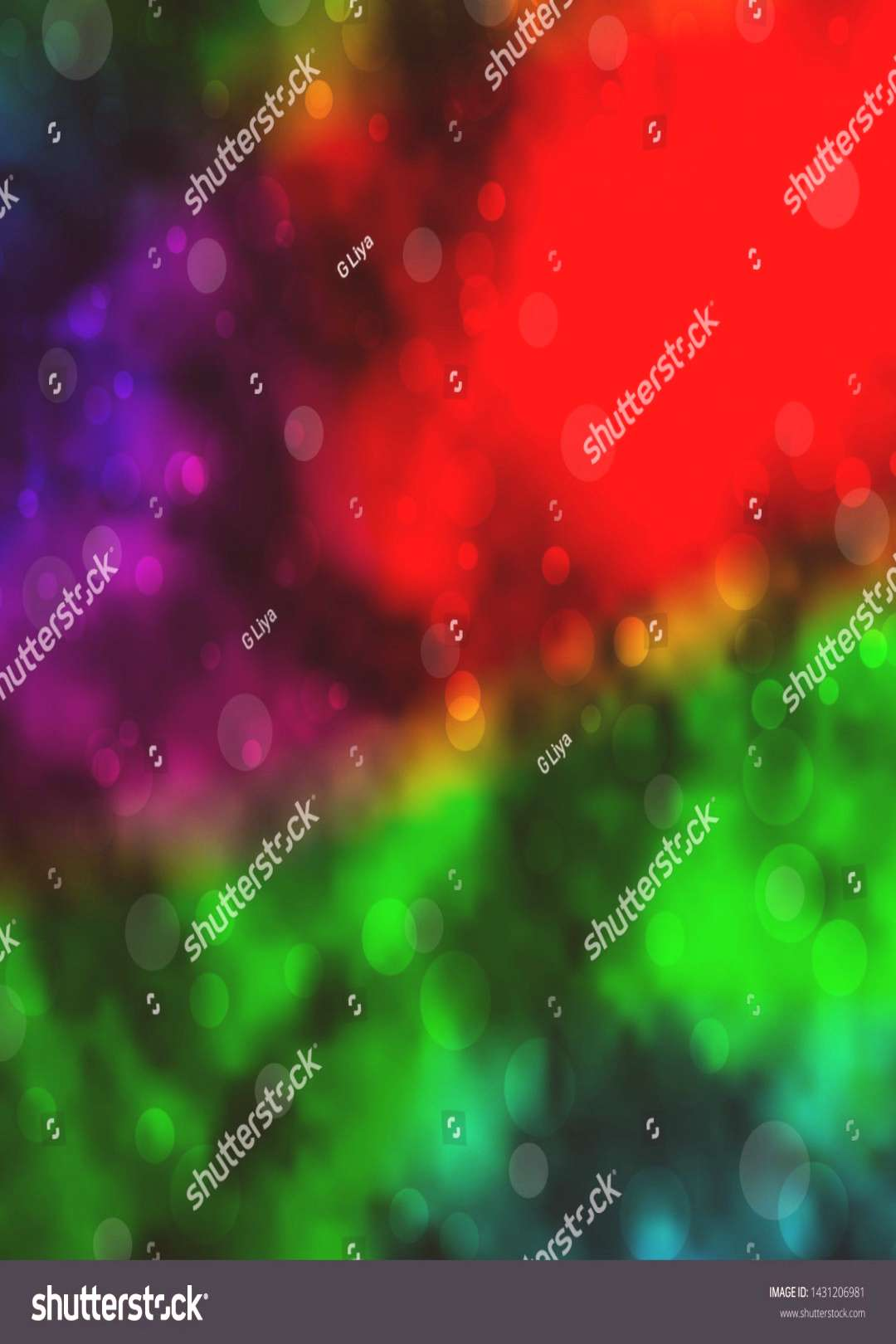 Dark Multicolor vector pattern with circles. Abstract decorative design in gradient style with bubb