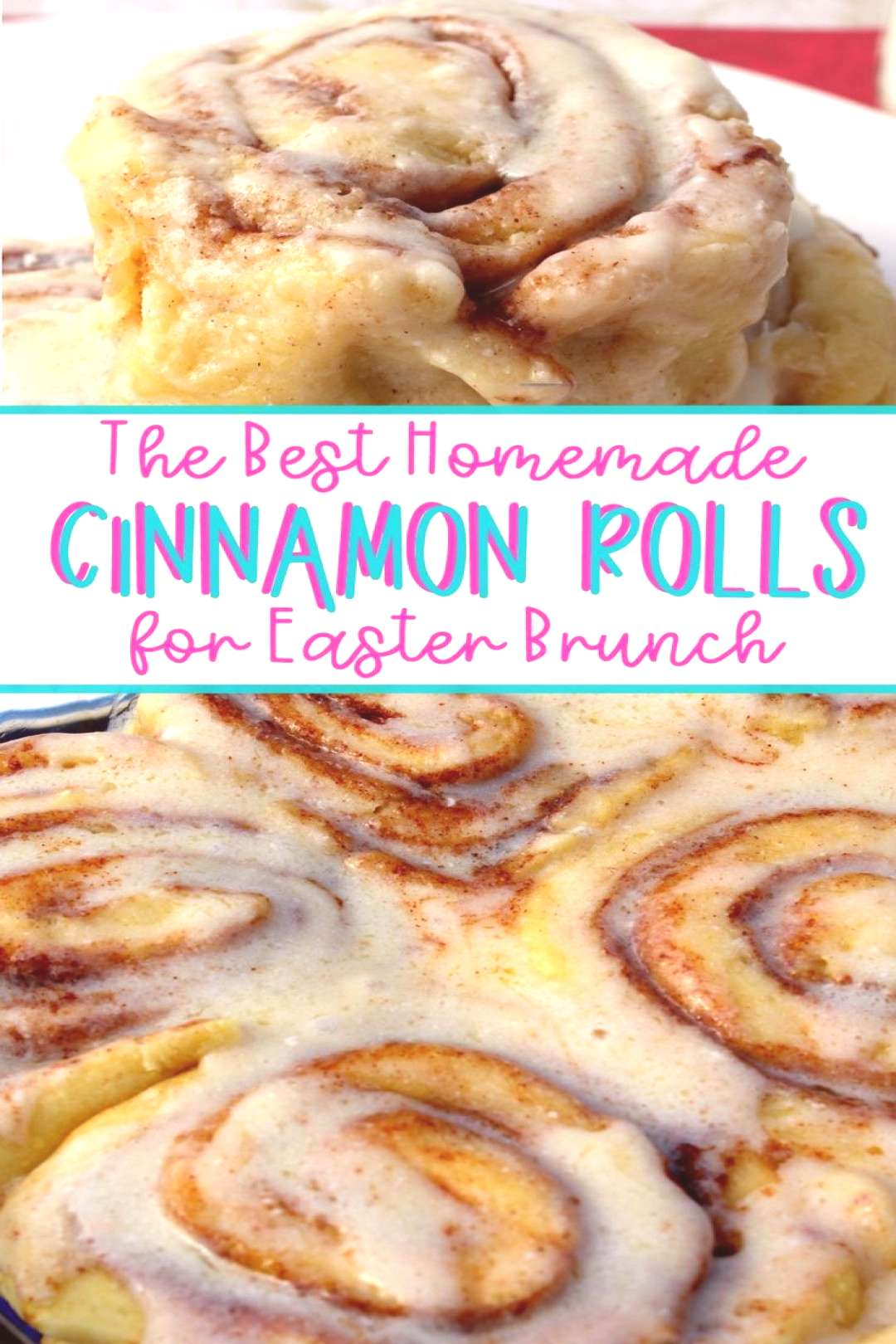 Easter Morning Cinnamon Rolls Treat your family to these delicious homemade Cinnamon Rolls for East