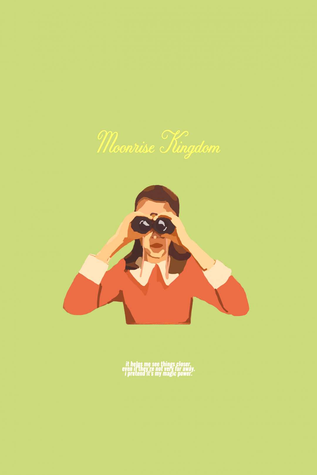 moonrise kingdom poster ✨??♀️ made by yours truly so don't steal it ?