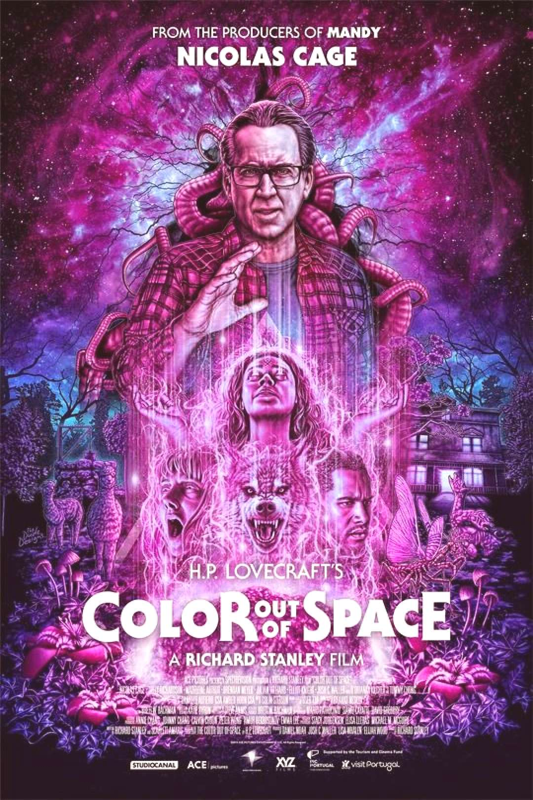 Review: Color Out of Space (2019) We looked at the movie Color Out of Space, a modern-day adaptatio
