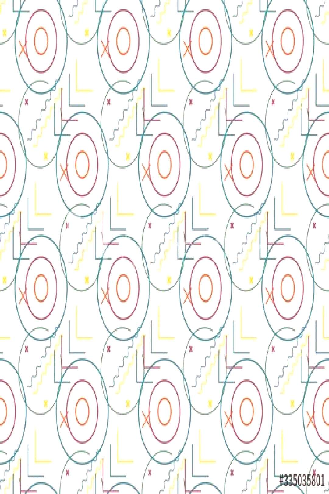 Spring. Colors. concentric circles. arrow. Pattern without seams ,