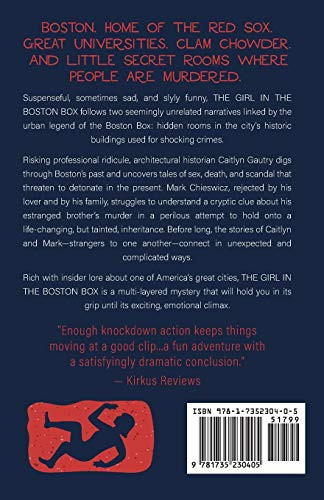 The Girl in the Boston Box A Mystery Times Two
