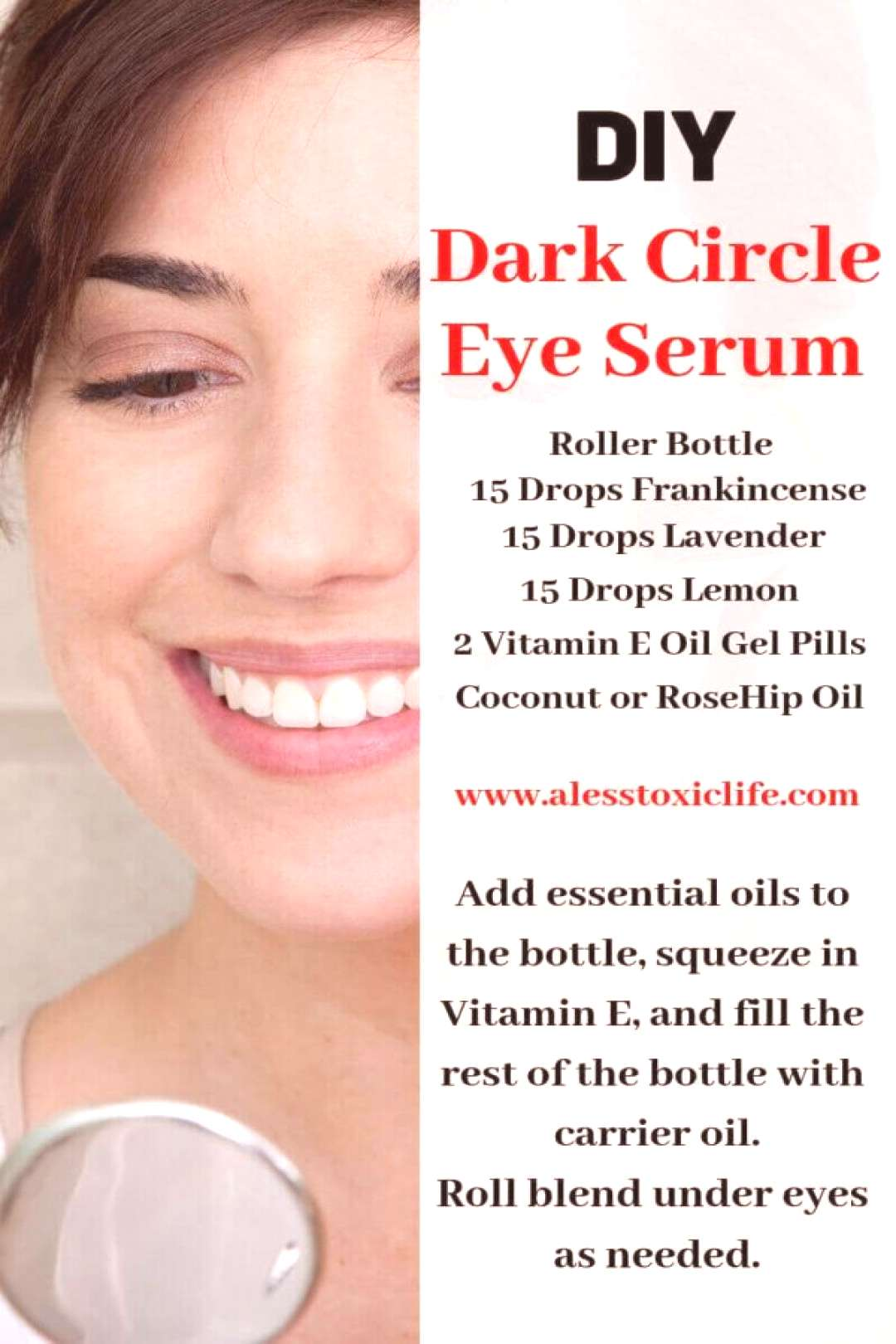 Top Six Essential Oils Everyone Should Own Plus 23 Ways To Use Them – Reduce dark circles Reduce
