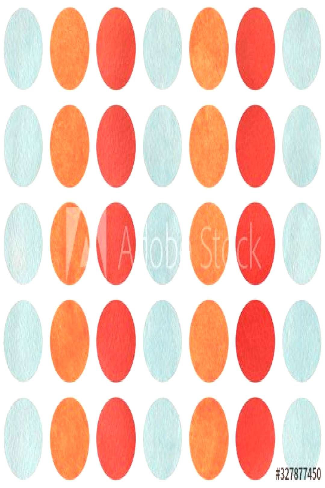 Watercolor circles on white background. ,